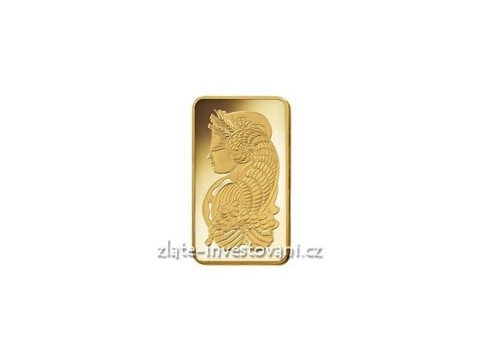 3128 investicni zlata cihla pamp 10 oz