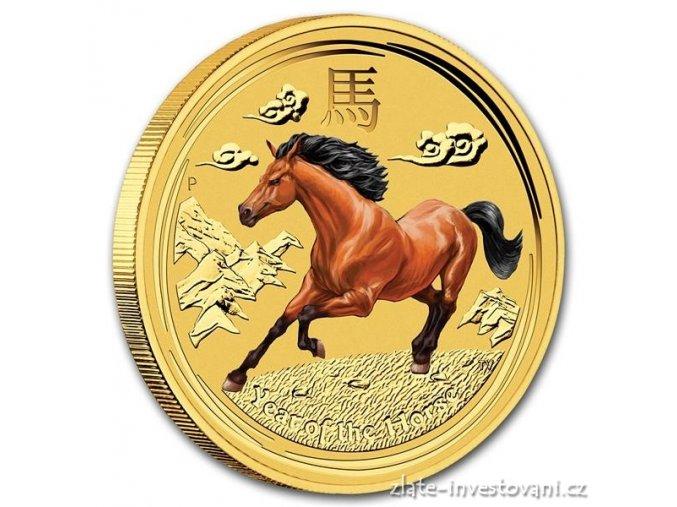 3200 investicni zlata mince rok kone 2014 1 oz