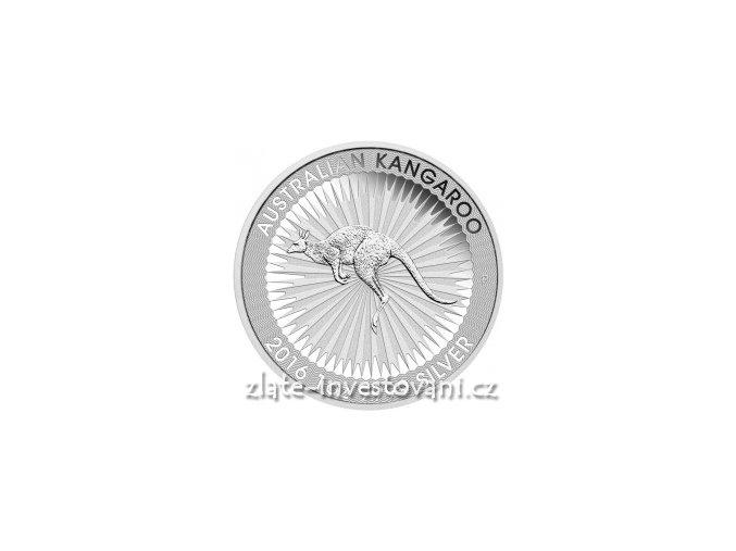 3212 investicni stribrna mince australsky klokan 2018 1 oz