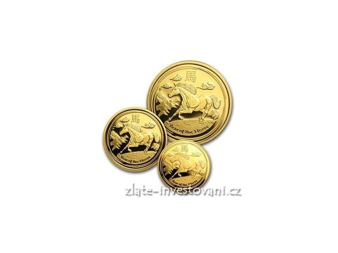 3221 set tri minci lunarniho kalendare rok kone 2014 proof