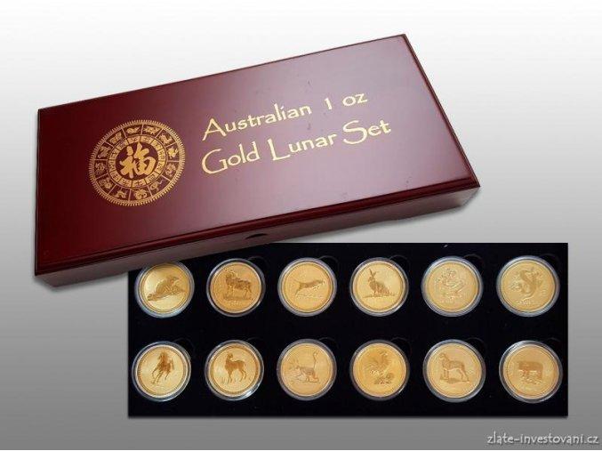 3230 investicni zlaty set lunarne serie i 1 oz australie