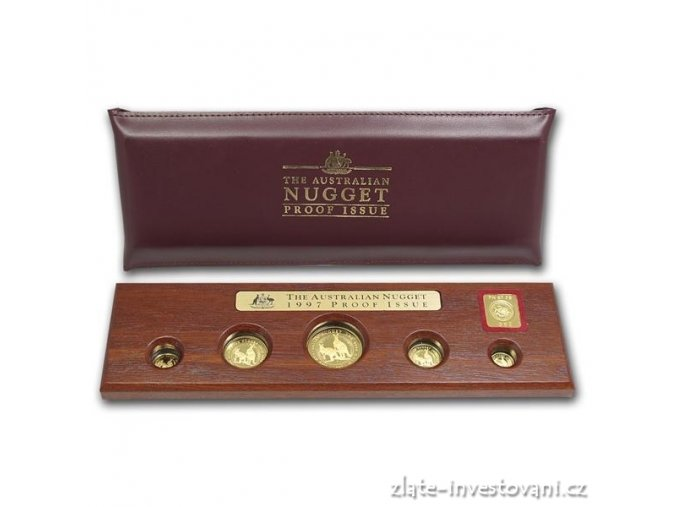 3371 investicni set australsky nugget proof