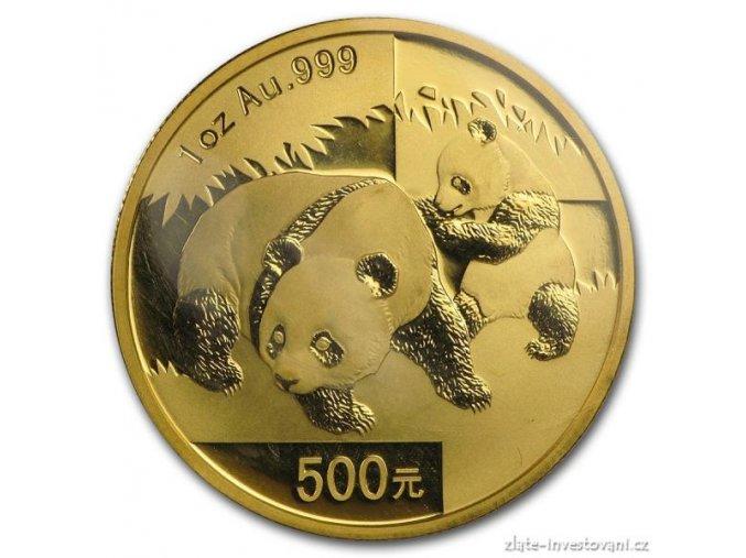 3416 investicni zlata mince cinska panda 2008 1 oz