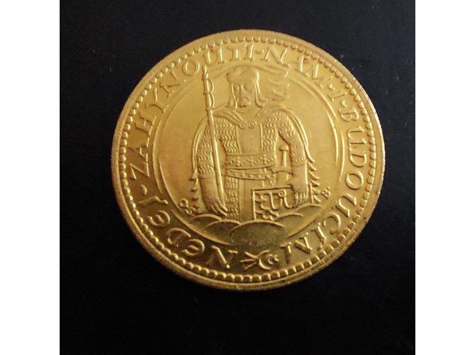 3440 zlaty svatovaclavsky dukat 1932