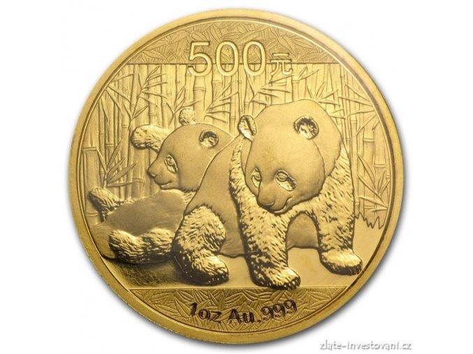 3644 investicni zlata mince cinska panda 2010 1 oz