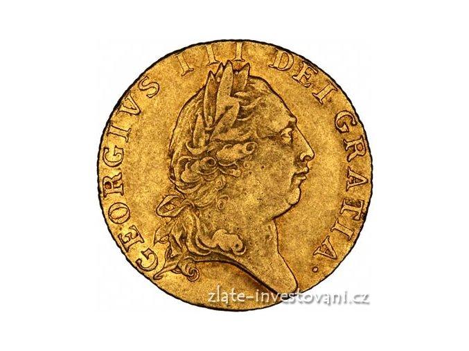 3959 zlata mince britska guinea george iii