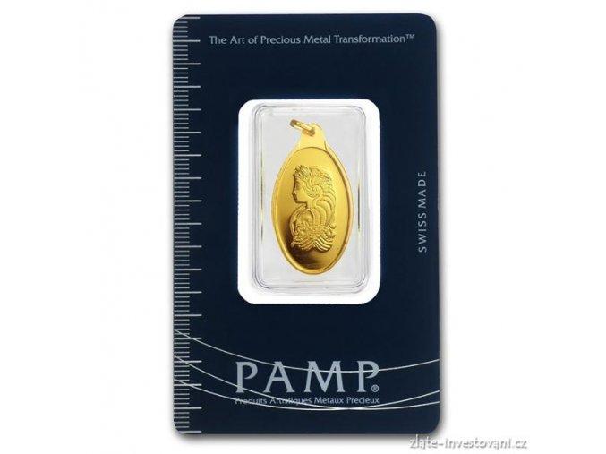Investiční zlatý slitek Fortuna10g- PAMP 10g