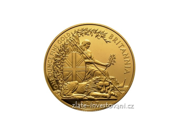 4139 investicni zlata mince britannia 2007 1 oz