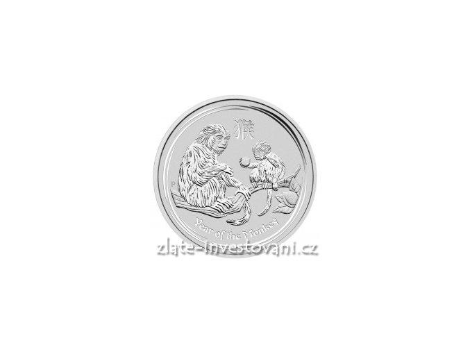 4226 investicni stribrna mince rok opice 2016 1 oz