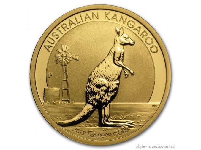 4256 investicni zlata mince australsky klokan 2012 nugget 1 oz