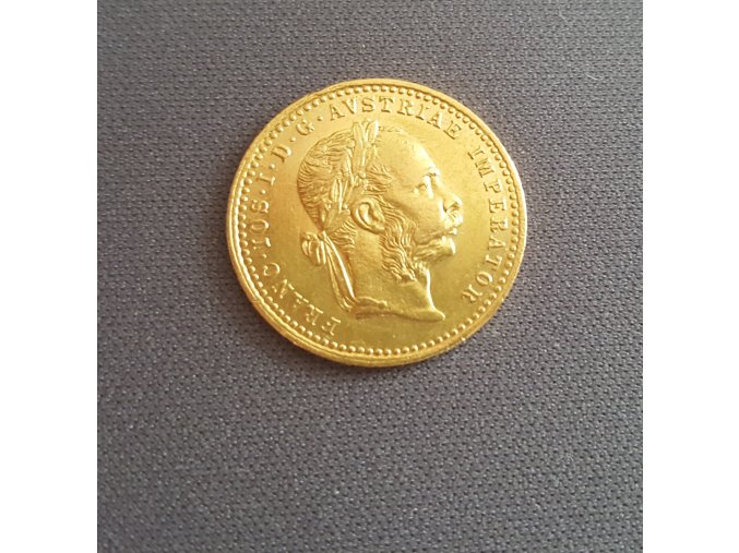 4574 zlaty dukat frantiska josefa i 1873