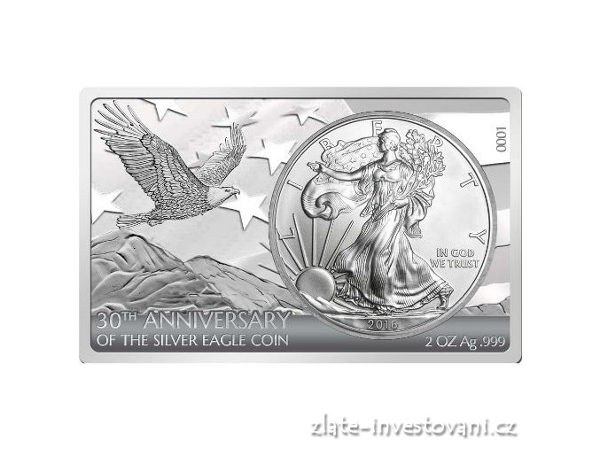 4598 stribrny set americky eagle 30 vyroci 2016 proof