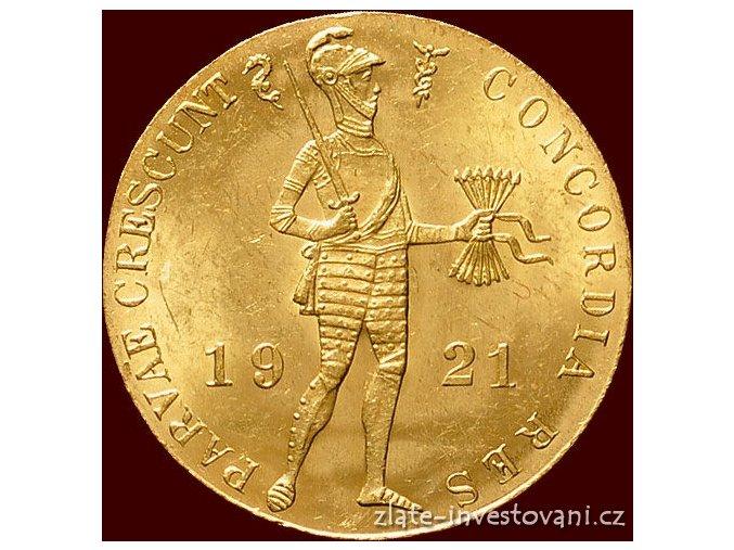 4715 zlaty nizozemsky dukat 1921
