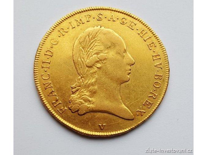 Zlatá mince Sovráno-1793 V František I.
