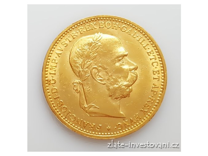 5228 zlata mince dvacetikoruna frantiska josefa i rakouska razba 1893