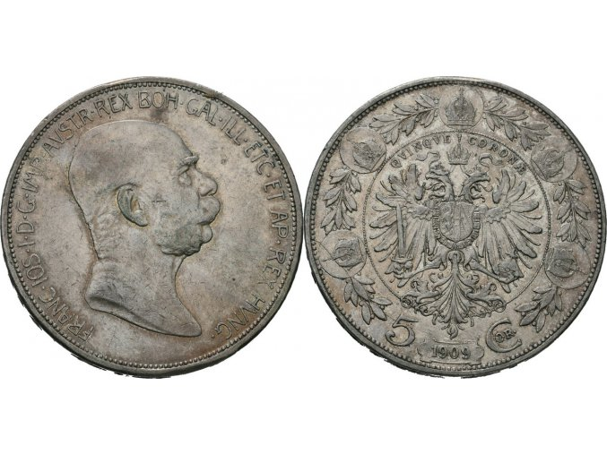 5 korona1909