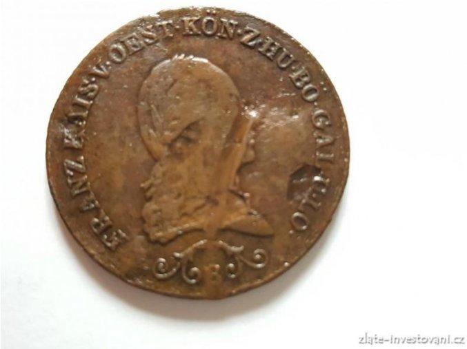 6431 rakousko uhersky 3 krejcar frantisek i 1812