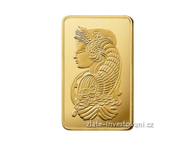 Investiční zlatý slitek PAMP Fortuna 500g