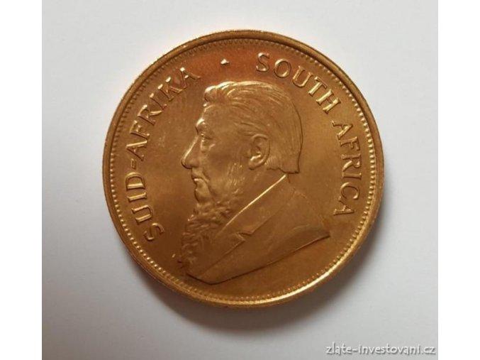 Investiční zlatá mince Krugerrand -1975 1 Oz