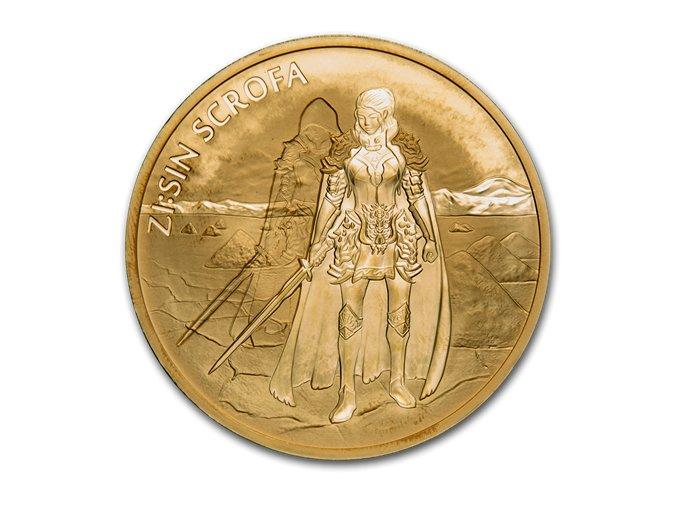 Investiční zlatá mince Scrofa-Jižní  Korea 1 Oz 2019