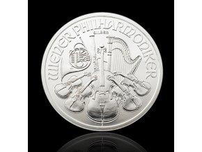 Investiční stříbrná mince Philharmoniker 1 Oz