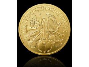 1910 investicni zlata mince philharmoniker 1 4 oz