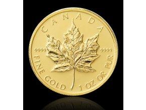 1928 investicni zlata mince kanadsky maple leaf 1 oz