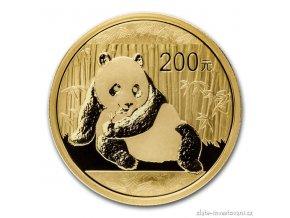 1943 investicni zlata mince cinska panda 2015 1 2 oz