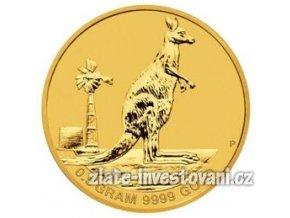 1976 investicni zlata mince mini roo
