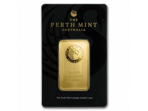 1982 investicni zlata cihla australsky klokan perth mint 1 oz