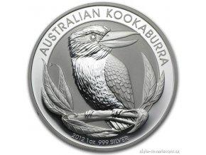 1985 investicni stribrna mince kookaburra 2012 1 oz