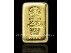 Investiční zlatá cihla Argor Heraeus 250g