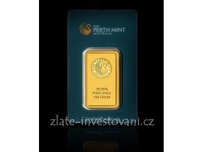 Investiční zlatý slitek Australský klokan 100g