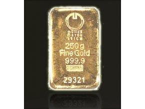 2063 investicni zlata cihla munze osterreich 250g