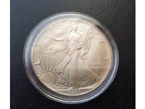 2081 investicni stribrna mince american eagle 1 oz
