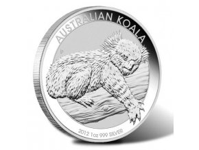 2096 investicni stribrna mince koala 2012 1 oz