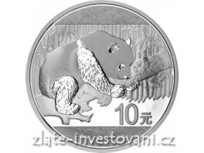 2105 investicni stribrna mince panda 2016 30g