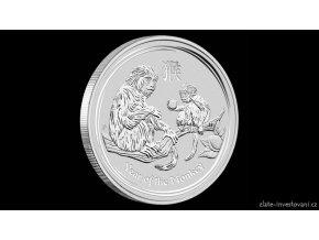 Investiční stříbrná mince rok Opice 2016-lunární série II. 1000g