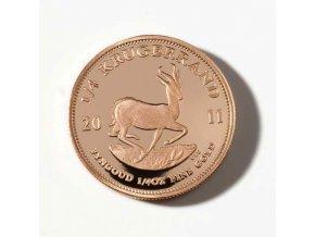 2186 investicni zlata mince krugerrand 1 4 oz