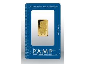 Investiční zlatý slitek PAMP Fortuna 10g