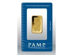 Investiční zlatý slitek PAMP Fortuna 20g