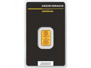 2231 investicni zlata cihla argor heraeus 2g