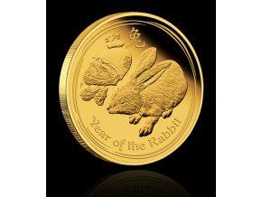 2240 investicni zlata mince rok kralika 2011 1 10 oz