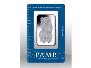 Investiční stříbrný slitek PAMP Fortuna 1 Oz