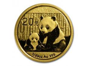 2312 investicni zlata mince cinska panda 2012 1 20 oz