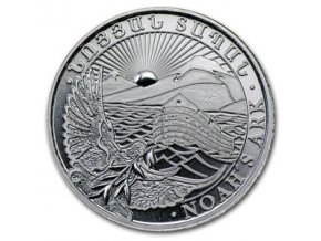 2333 investicni stribrna mince armenska archa noemova 1 4 oz