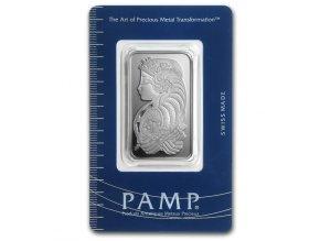 Investiční stříbrný slitek PAMP Fortuna 20g