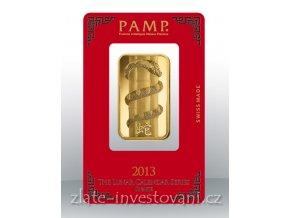 2459 investicni zlata cihla pamp rok hada 2013 1 oz