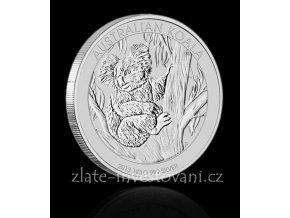 2468 investicni stribrna mince koala 2009 2014 1000g