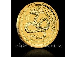 2510 investicni zlata mince rok hada 2013 1 kg